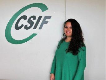 Laura Martínez, portavoz de CSIF en el departamento de salud de Manises