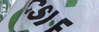 Logo CSIF bandera