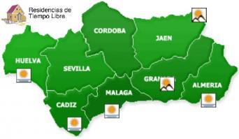 Mapa de Residencias de Tiempo Libre