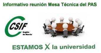 Informativo reunión Mesa Técnica del PAS (5 de marzo de 2019)