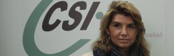 María José Cano, presidenta de CSIF Cádiz