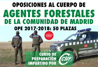 Oposiciones Agentes Forestales CSIF