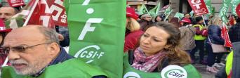 Seguimiento masivo y de éxito en la primera jornada de huelga en Correos