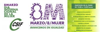 CSIF convoca huelga en la Administración para denunciar los incumplimientos en materia de igualdad
