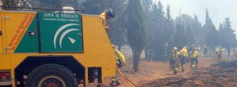 CSIF alerta de la falta de efectivos del Plan Infoca en plena ola de calor