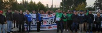 CSIF valora el seguimiento masivo de la convocatoria de huelga en la jornada de hoy