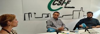 CSIF Granada protagonista del programa COPE Más Granada