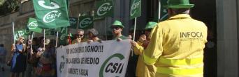 CSIF Granada se moviliza por la paralización en la negociación del convenio de AMAYA