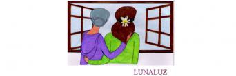 Ilustración de Lucía Cárdenas, que acompaña al microrrelato ganador en la categoría de hasta 15 años