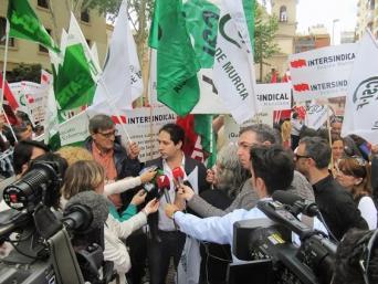 Entrevistas en Radio, TV y Prensa, realizadas a Juan Miguel López Blanco, presidente de CSI.F Región de Murcia.