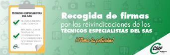 CSIF Sanidad Andalucía, por las reivindicaciones de los Técnicos Especialistas del SAS