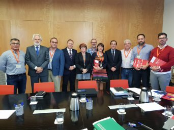 Mesa de negociación sobre Ley  de las Policías Locales de Andalucía