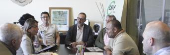 Reunión CSIF y Podemos en Cádiz