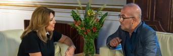 José Luis Heredia le traslada a Susana Díaz el apoyo de CSIF-A a la reforma del modelo de financiación autonómica