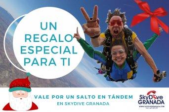 Sorteo de un salto desde 3000 m de altura con SKYDIVE GRANADA