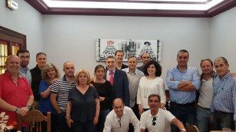 Fotografía de la reunión de los delegados de Tragsa