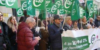 CSIF Granada protesta subida salarial EEPP