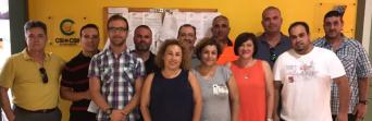 Miembros de la plataforma sindical
