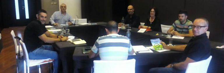 Reunión delegados CSIF en Veiasa