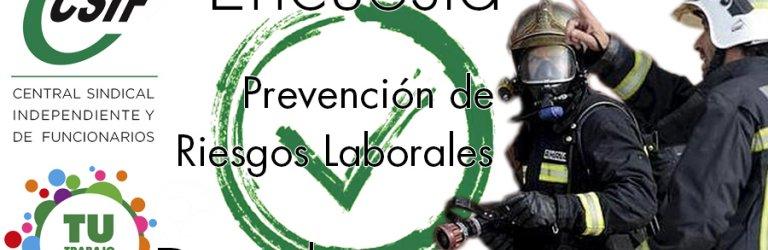 ENCUESTA NACIONAL: PREVENCIÓN DE RIESGOS LABORALES PARA BOMBEROS