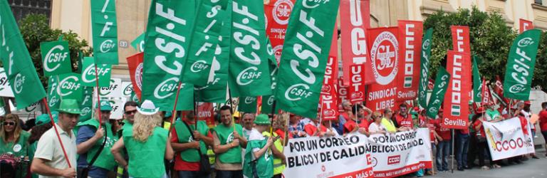 CSIF advierte que sin soluciones habrá más movilizaciones en Correos