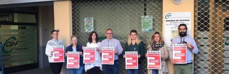 CSIF TERUEL EN LA REVUELTA DE LA ESPAÑA VACIADA