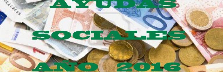 Ayudas Sociales de Correos año 2016