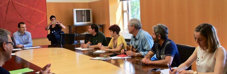 Reunión de la mesa sectorial de Educación el pasado 29 de junio de 2018