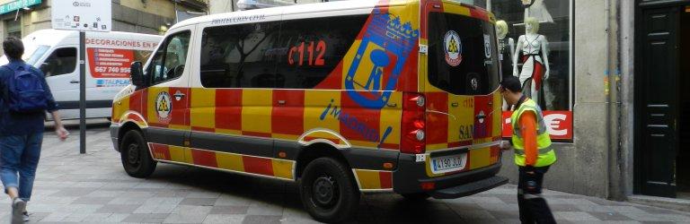 Ambulancia SAMUR - Foto CSIF