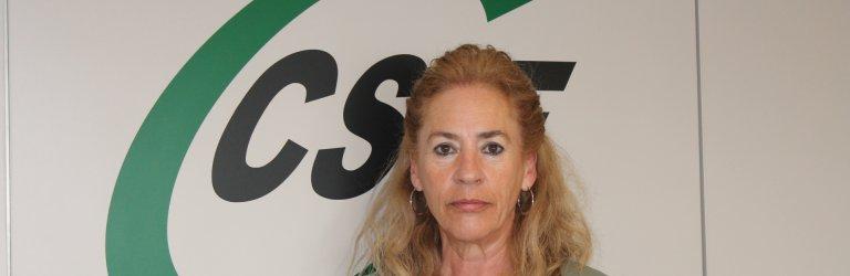 Dolly Prunés, presidenta de CSIF Comunidad Valenciana