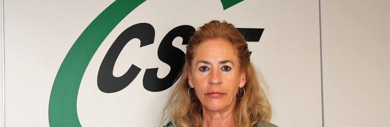 Dolly Prunés, presidenta de CSIF  Sanidad Comunidad Valenciana