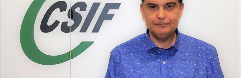 Fernando García, presidente de CSIF Sanidad provincia de Valencia