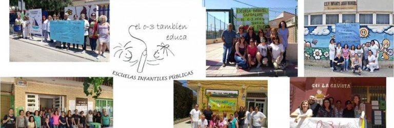 """El personal de las 14 escuelas infantiles que dependen de la CARM reclama unas condiciones de trabajo """"dignas"""""""