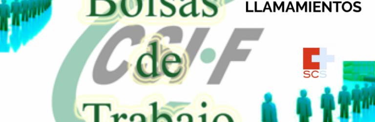 CSIF Números de llamaientos del SCS