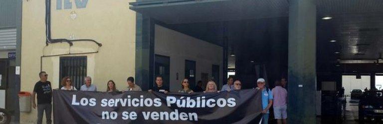 Csif apoya a los trabajadores de la ITV de Alcantarilla