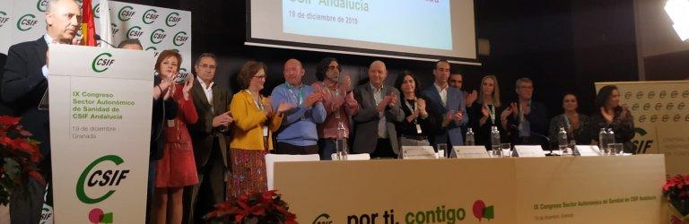 Victorino Girela asume la presidencia del sector de Sanidad de CSIF Andalucía