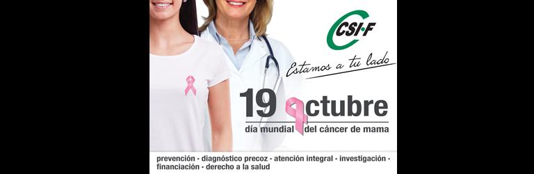 CSIF, por la prevención en el cáncer de mama