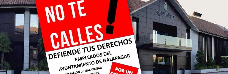 CSIF concentracion Galapagar