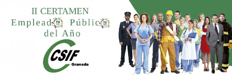 CSIF pone en marcha el II Certamen del Empleado Público del Año en Granada