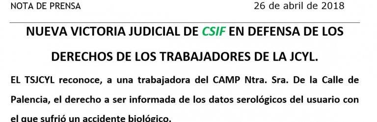 Nueva victoria judicial de CSIF