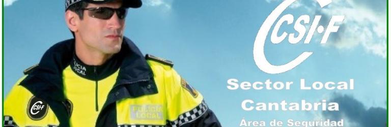 Área de Seguridad del Sector de Administración Local de CSI-F Cantabria