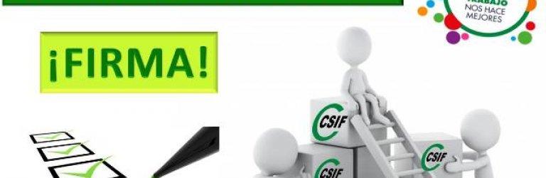 FIRMA para una Promoción Interna del personal de Administración y Servicios 'MASIVA Y JUSTA'